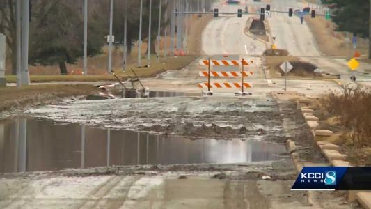 Fleur Drive reopens Wednesday afternoon, city officials say