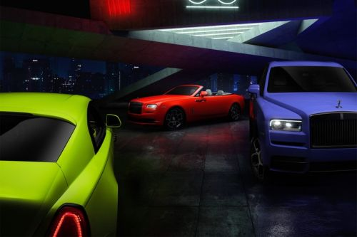 Rolls-Royce's Black Badge Collection Brings on the Neon