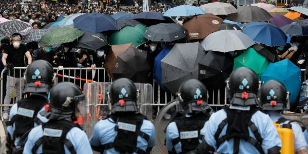 How protesters are hiding their identities during some of the largest demonstrations in Hong Kong's history