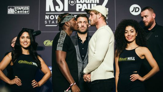 KSI vs. Logan Paul 2: Fight card, odds, start time, live stream, how to watch online