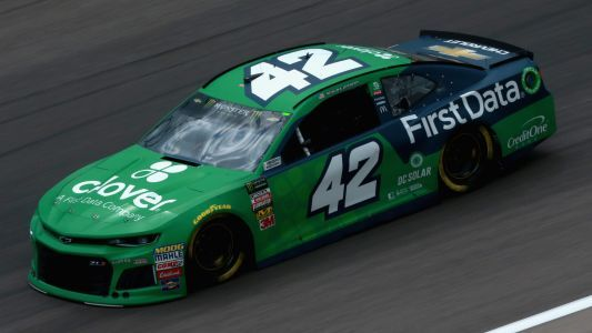 Kyle Larson hit with severe penalty from NASCAR for improper rear window