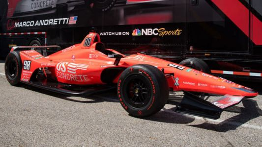 Andretti Progeny Aims to Break Horrible, Unspeakable Family Curse With Paint Job