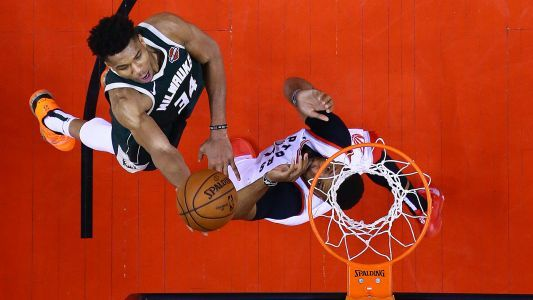 NBA playoffs 2019: Giannis Antetokounmpo expects Bucks to bounce back