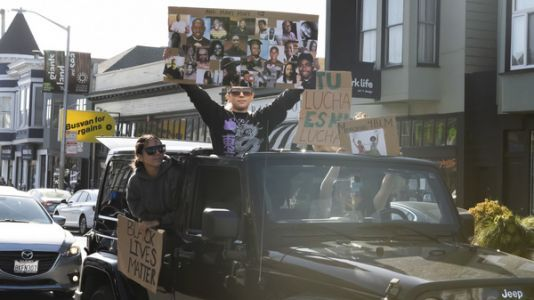 Caravan For Justice: Cars Offer Socially Distanced Protesting During Pandemic