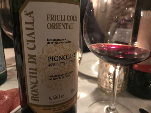 Is Pignolo Italy's most underrated red grape? The 2012 Ronchi di Cialla was astounding