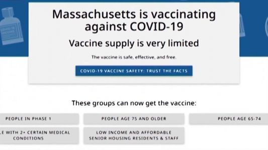 Mass. makes critical upgrade to its COVID-19 vaccine website