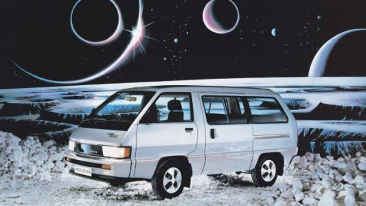 Good morning and never stop dreaming, like this 1984 Toyota Space Cruiser that made it all the way t