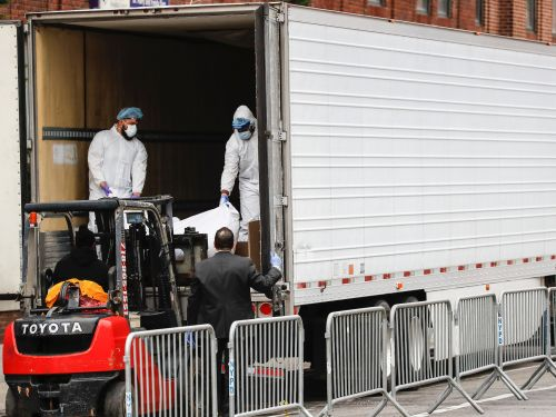 The FDA just released a ghoulish handbook for how to convert trucks from storing coronavirus victims' bodies to hauling food