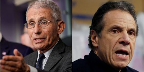 NY Gov. Cuomo calls Dr. Fauci on his cell phone 'late at night' when he needs COVID-19 advice