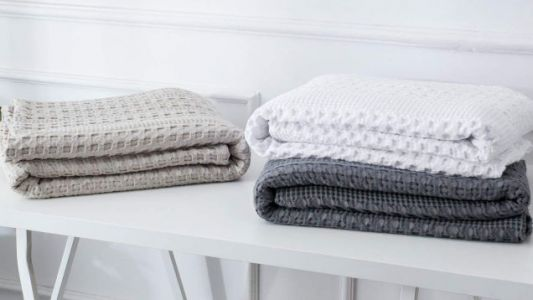 Get Cozy Under One of These Discounted Waffle-Weave Blankets