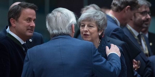 The EU agrees to delay Brexit until May 22 if MPs back Theresa May's deal