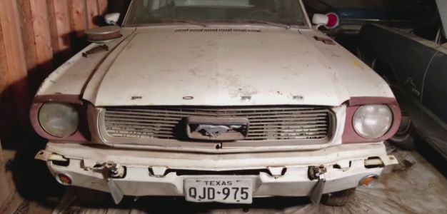 Watch This 1965 Ford Mustang Come Back to Life After Sitting for 44 Years