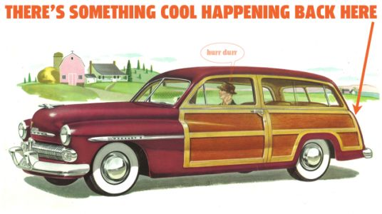 Late 1940s Mercury Wagons Featured An Important Taillight Innovation