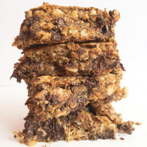 Healthy Almond Joy Oatmeal Bars