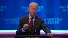 Joe Biden Warns Americans' Health Care On The Line With Barrett Confirmation