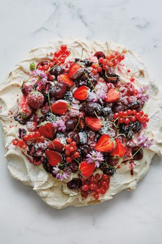 Pavlova with Summer Berries