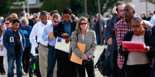 A record 3.3 million Americans filed for unemployment benefits in a single week. Here's why that number is likely much higher