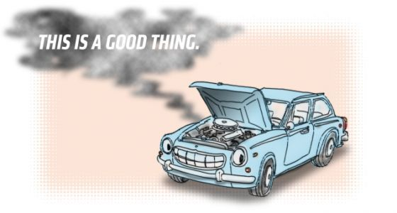 To Be Truly Happy, You Need A Funreliable Car