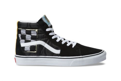 """Vans Reworks the Sk8-Hi With a """"Mixed Quilting"""" Colorway"""