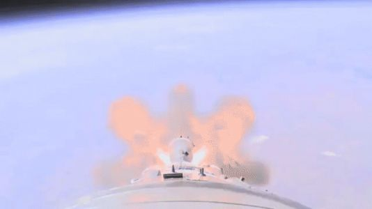 Watch The Moment That Terrifying Russian Rocket Failure Went Wrong