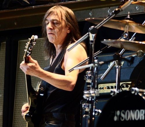 Malcolm Young, 'driving force' and co-founder of AC/DC, dies at 64