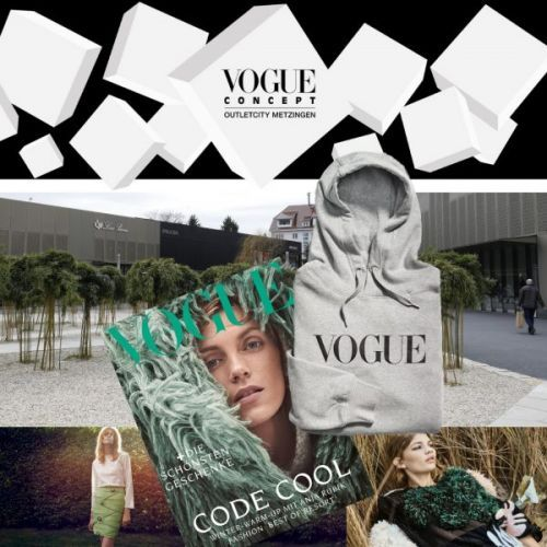At the Opening of Vogue's First Concept Store