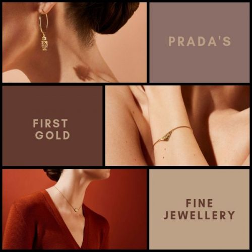 Prada's First Gold Fine Jewellery