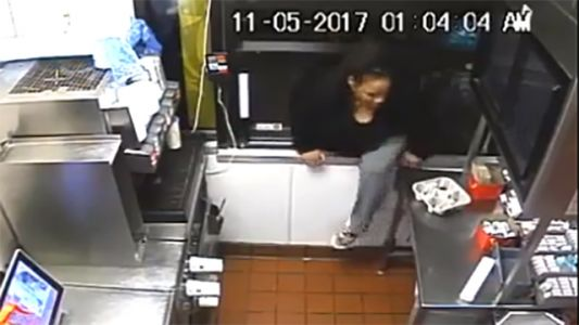 VIDEO: Woman robbed at gunpoint in Chinatown