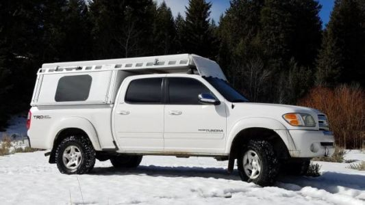 At $14,500, Could This 2004 Toyota Tundra TRD Camper Have You Saying Get Outta Town?