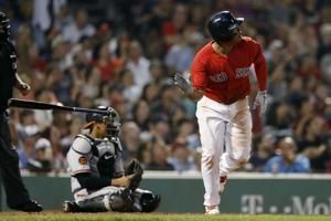 Rodriguez, Devers carry Red Sox past Orioles, 4-0
