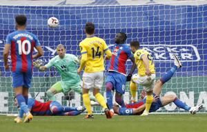 Brighton leaves it late to snatch 1-1 draw at Palace in EPL