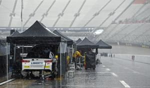 The Latest: Menard crash damages his playoff hopes