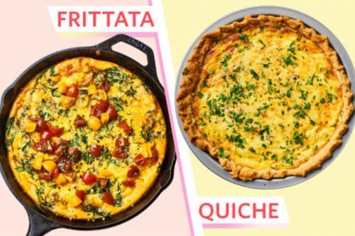 What's the Difference Between a Frittata and a Quiche?