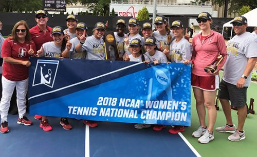 Women's tennis wins NCAA championship