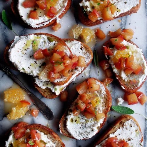 Caramelized Apple Ricotta Toast