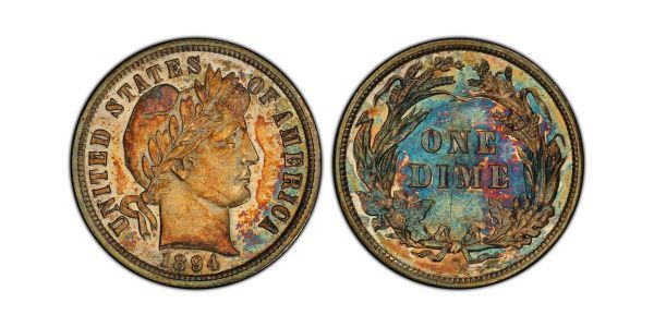 A rare, 125-year-old dime just sold for $1.3 million