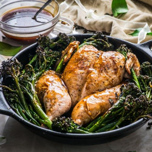 Smoked Oolong Roast Chicken
