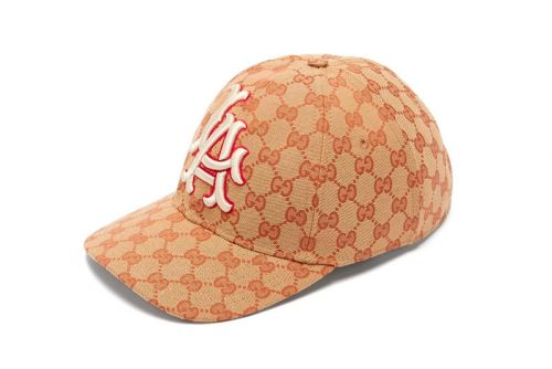 Gucci Gives the LA Dodgers' Classic Cap the GG Monogram Treatment