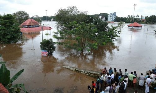 Incessant Rains and Widespread Flooding Devastate the South Indian State Of Kerala, Killing 67