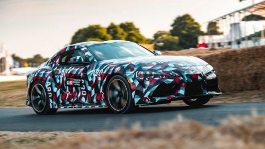 The 2019 Toyota Supra Will Have Torque on Par With a Lexus F but Weigh Less