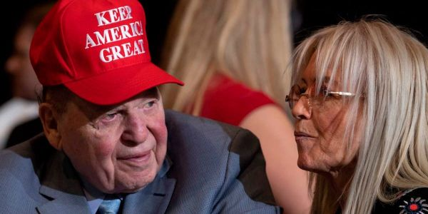 Trump lashed out at mega-donor Sheldon Adelson in a recent phone call, prompting panicked Republican Party officials to try and deescalate the situation