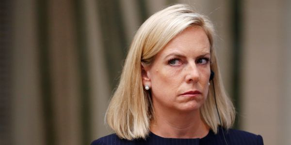 Homeland Security chief Nielsen said she believes Russia interfered in the US election, but questioned whether it really tried to help Trump
