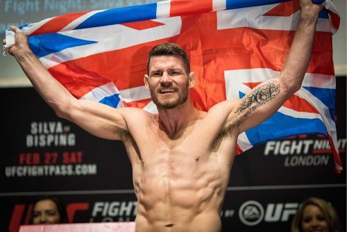 Former champ Michael Bisping to be inducted into UFC Hall of Fame