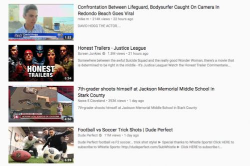 YouTube Prominently Featured a Video Promoting a Florida School Shooting Conspiracy Theory
