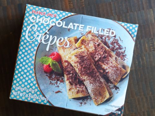 Sweet on Trader Joe's Sunday: Chocolate Filled Crepes