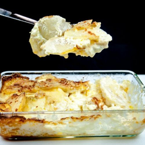 Cheesy Dauphinoise Potatoes
