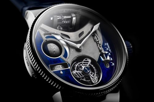 Ulysse Nardin's Marine Mega Yacht Can Display the Height of Tides
