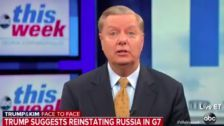 Lindsey Graham Defies Trump: Readmitting Russia To The G-7 Would Be A 'Mistake'