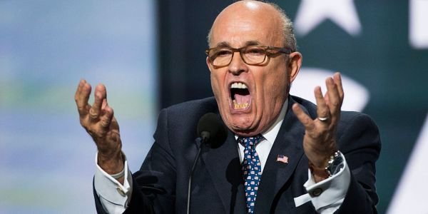 Twitter deleted a tweet by Rudy Giuliani for spreading coronavirus misinformation