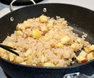 Theory and Practice: Apple Risotto